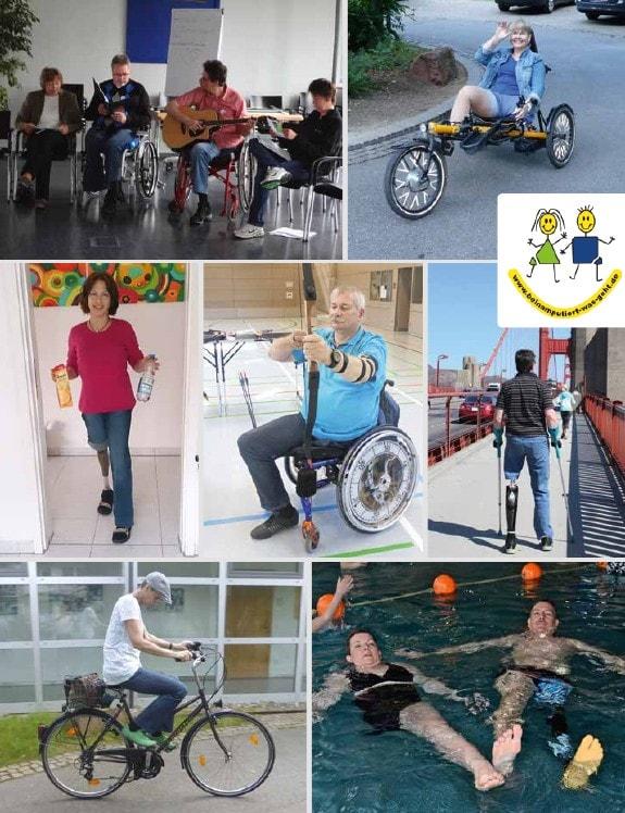 Rollstuhl amputiert Ampgermanyru