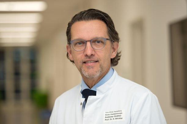 """DGG-Präsident Prof. Dr. Dittmar Böckler freut sich über den """"wichtigen Meilenstein"""" für Diabetespatienten."""