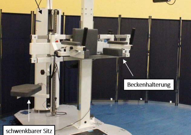 Der zweite Prototyp des Diagnostikgeräts in der Otto-von-Guericke-Universität Magdeburg.