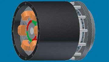 Optimierte permanentmagnetisch erregte Synchronmaschine