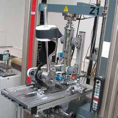 Vorrichtung zur Messung der AFO-Eigenschaften.