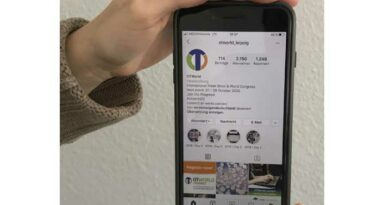 Instragram ist einer der offiziellen Verbreitungskanäle, über die man sich digital über die OTWorld.connect auf dem Laufenden halten lassen kann.