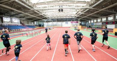 """Freude am Laufen zeigten die jungen Teilnehmer der """"Talent days"""" in Leverkusen."""
