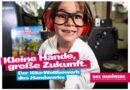 """Die Aktion """"Kleine Hände, große Wirkung"""" will 3- bis 6-jährige Kinder spielerisch für das Handwerk begeistern."""