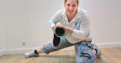 Große Freude bei Jana Baxmann, die beim Leistungswettbewerb des Handwerks mit ihrem Gesellenstück auf Platz drei kam.