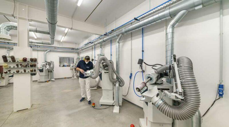 Die hocheffiziente Be- und Entlüftungsanlage ist das Herzstück der neuen CCD-Zentrale.