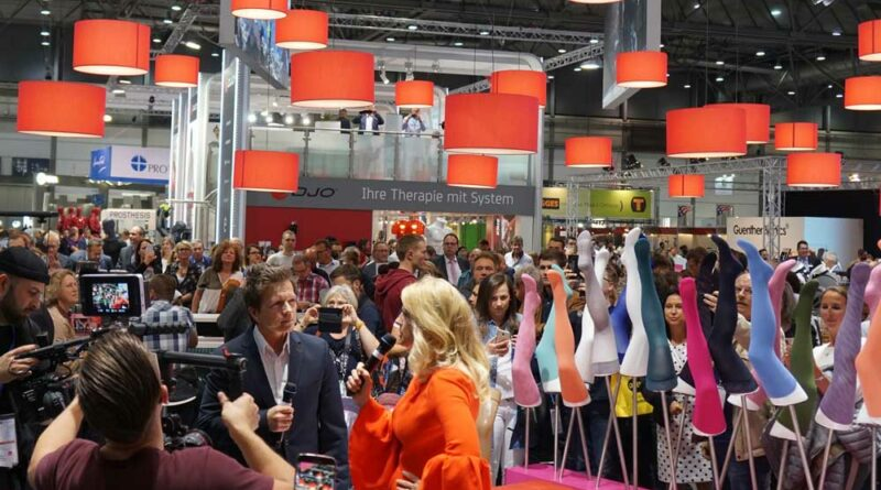 Volle Messehallen gibt es traditionell bei der OTWorld in Leipzig.