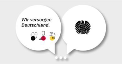 """Das Bündnis """"Wir versorgen Deutschland"""" lädt die Gesundheitspolitik zur Diskussion ein."""