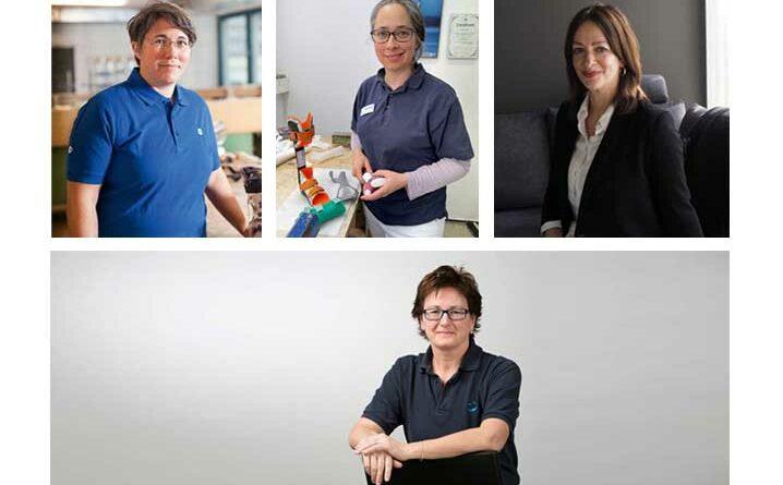 Die OT-Redaktion sprach mit zwei Orthopädietechnik-Meisterinnen und zwei Geschäftsführerinnen über die Rollenverteilung in Sanitätshäusern