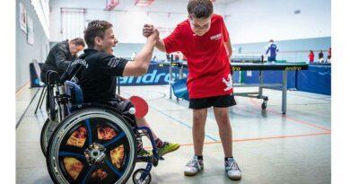 Mit einer neuen Homepage wirbt der DBS für die Teilhabe von Menschen mit Behinderung am sportlichen Alltag.