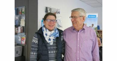 Sabine und Karl Gundermann leiteten das Unternehmen acht Jahre gemeinsam, das dieser Tage 100-Jähriges feiert.