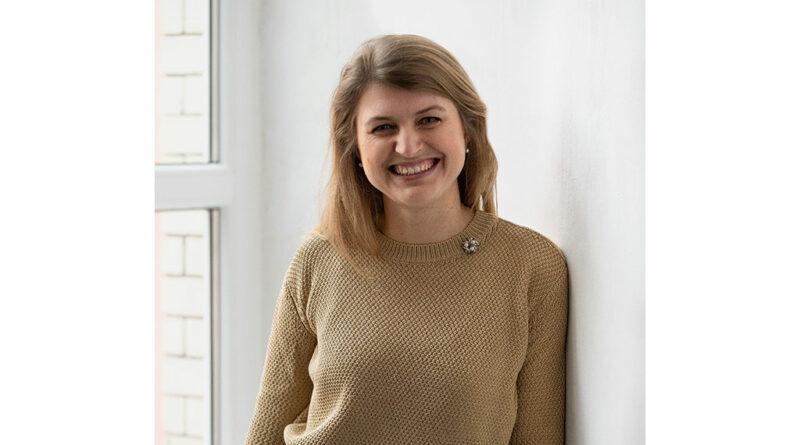 Diana Heinrich, Mitgründerin und CEO von Lindera, erläutert im OT-Gespräch die 3D-Motion-Tracking- Systeme für die Hosentasche ihres Start-up-Unternehmens.