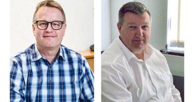 Olaf Gawron (l.) und Carsten Strangmann informieren in Online-Seminaren über die Änderungen in der Produktgruppe 24 des Hilfsmittelverzeichnisses und deren Auswirkungen auf Kalkulationen und Rechnungslegungen der OT-Betriebe.