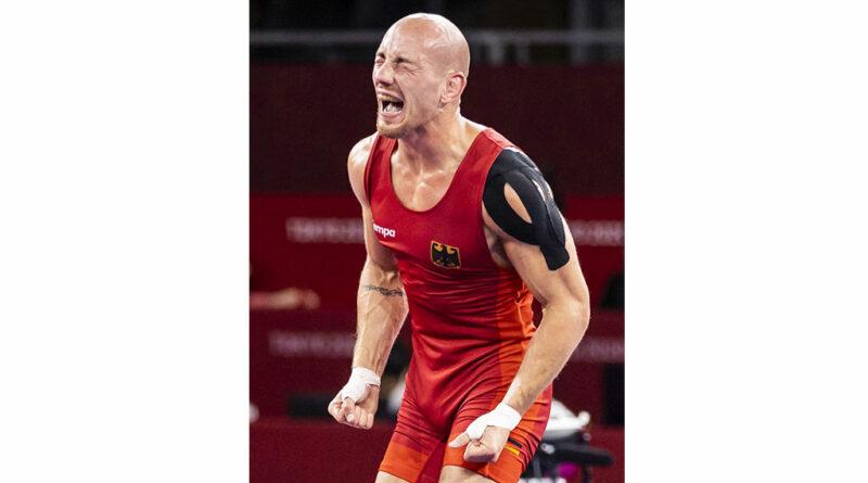 Ringer Frank Stäbler gewann zum Abschluss seiner erfolgreichen internationalen Karriere die Bronzemedaille bei den Olympischen Spielen in Tokio.