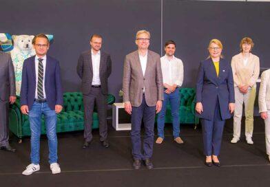 Dr. med. Anett Reißhauer (Dritte von rechts) im Kreise der Referenten des 10. Berliner Lymphologischen Symposiums.