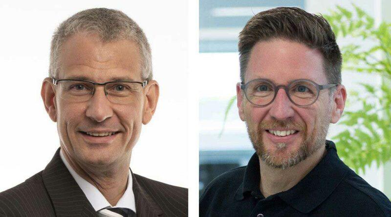 """Die Chairs der neuen AG """"Elektrostimulierende Hilfsmittel"""" (v. l.) Prof. Dr. Timo Kirschstein und Lutz Klasen werden Teil der DGIHV-Fachtagung in Berlin sein."""