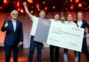 Große Freude beim Winterthurer Start-up Scewo, das den mit 50'000 Franken dotierten Swiss Medtech Award 2021 in Bern gewann.